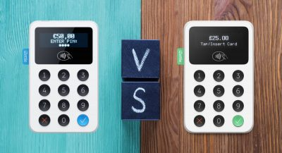 iZettle Reader 2 vs 1