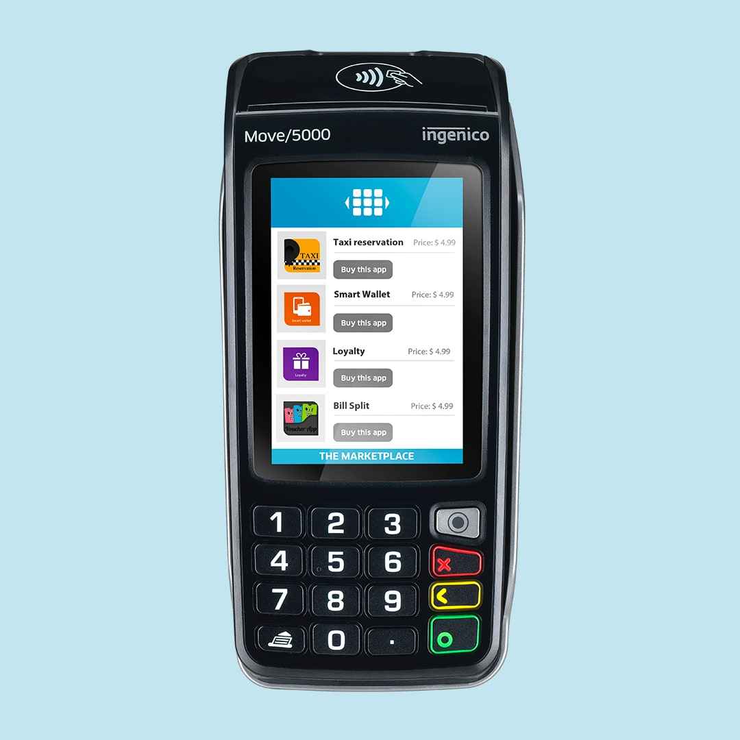 Ingenico Move 5000 Apps