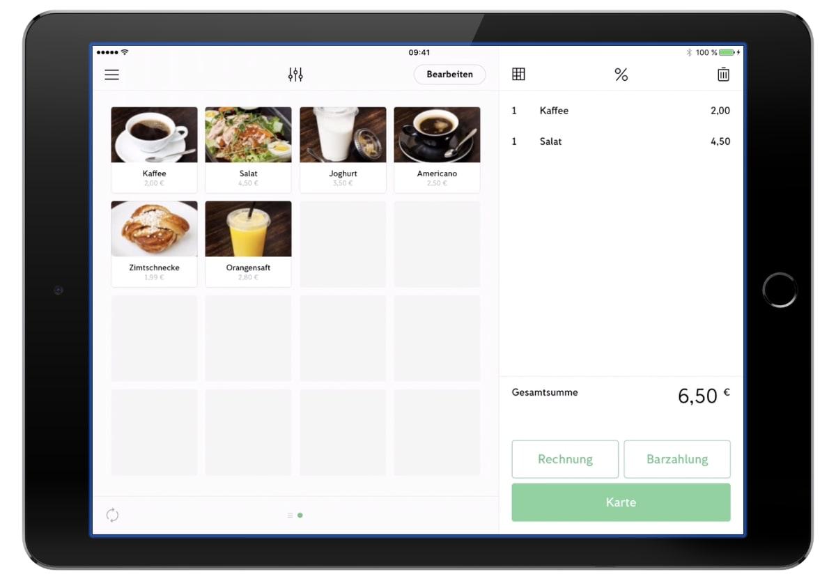 iZettle Go-App