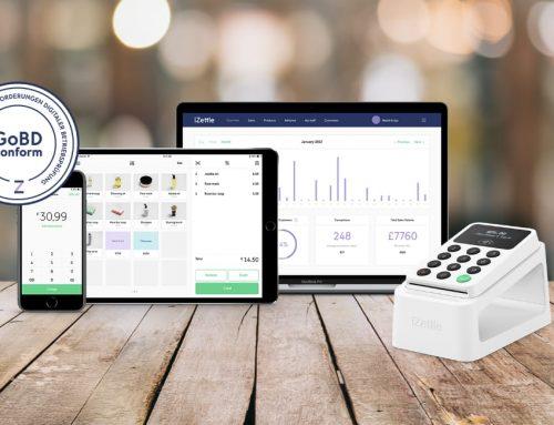 iZettle Go – kostenlos, GoBD-konform, mobiles Kassensystem