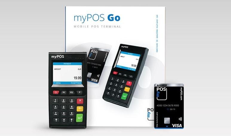 myPOS Go Paketinhalt