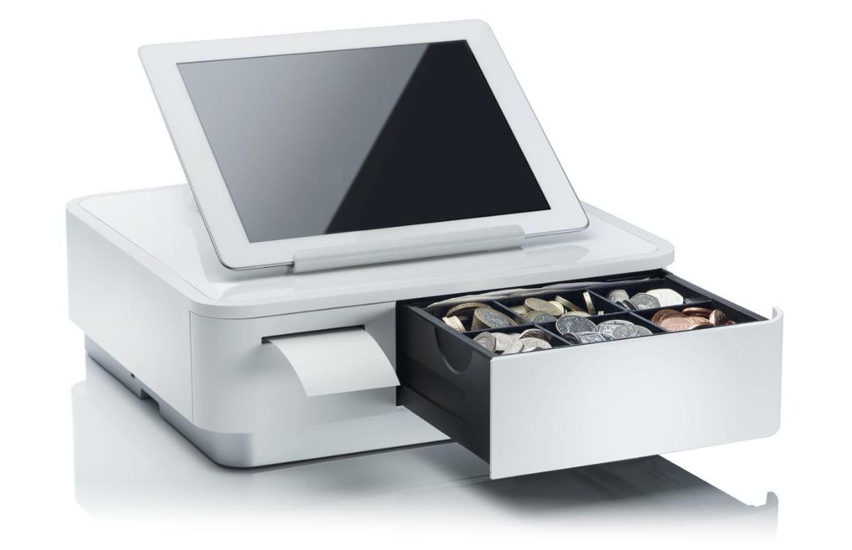 Star mPOP-Kassenlade mit Drucker und Tablett