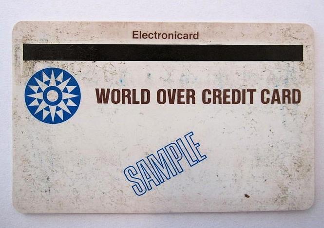 Magnetstreifen-Kreditkarte von IBM