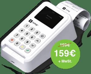 SumUp 3G Drucker 159 Euro