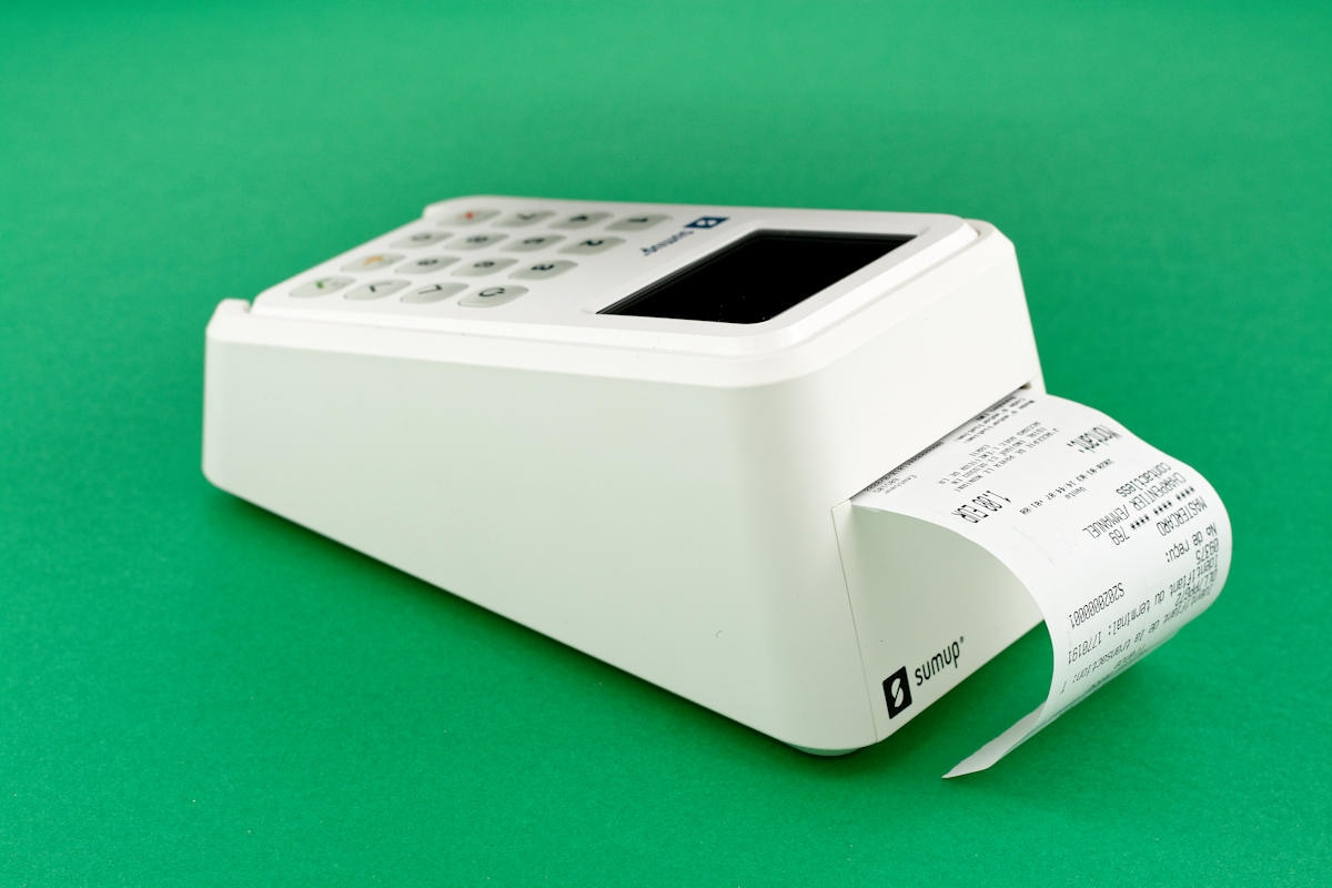 SumUp 3G Drucker Rückseite