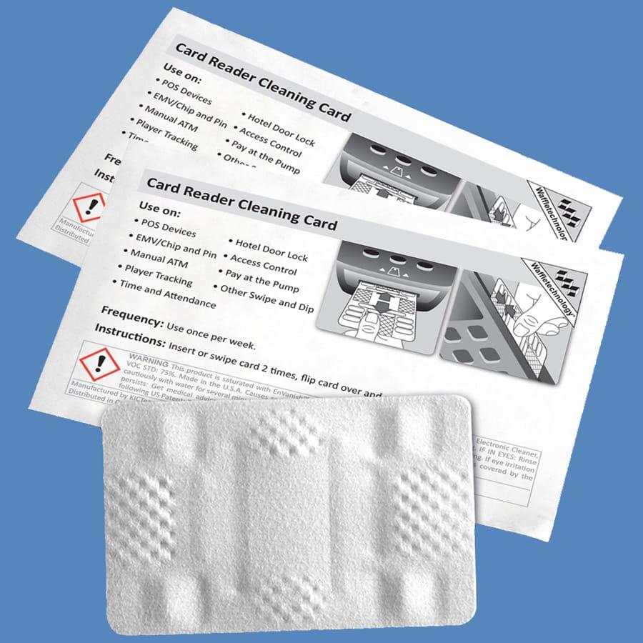 Reinigungskarten für Zahlungsterminal