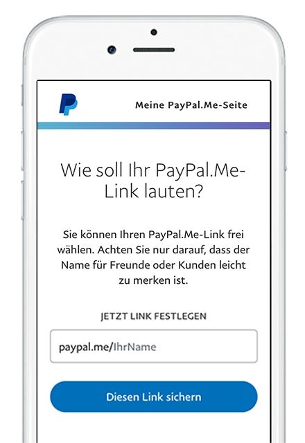 PayPal.Me-Beispiel