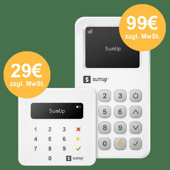 SumUp Air oder 3G Angebot