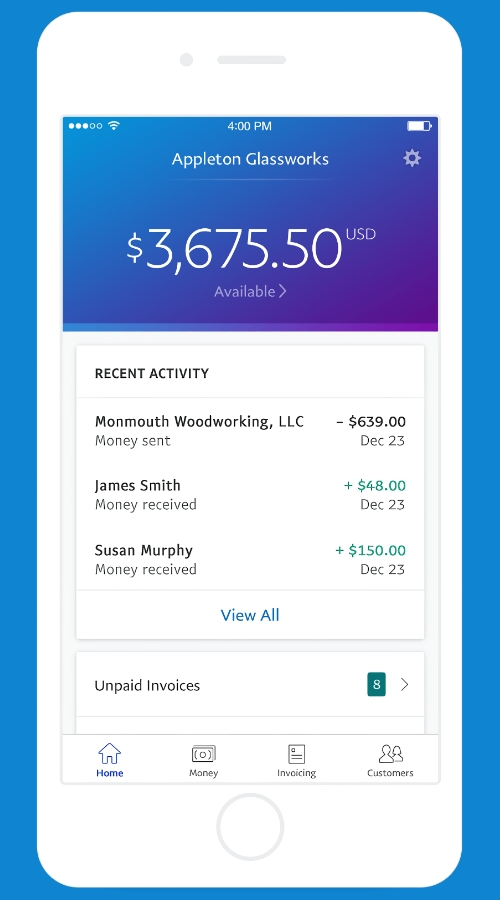 PayPal Business-App